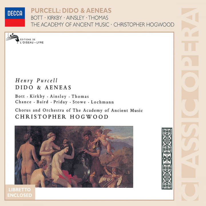 Purcell: Dido & Aeneas 0028947571955