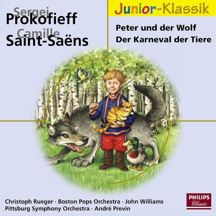 Peter und der Wolf - Der Karneval der Tiere 0028947690700