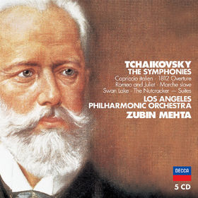 Zubin Mehta, Tchaikovsky: The Symphonies, 00028947573159