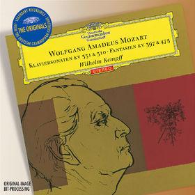 The Originals, Mozart: Piano Sonatas, 00028947759072