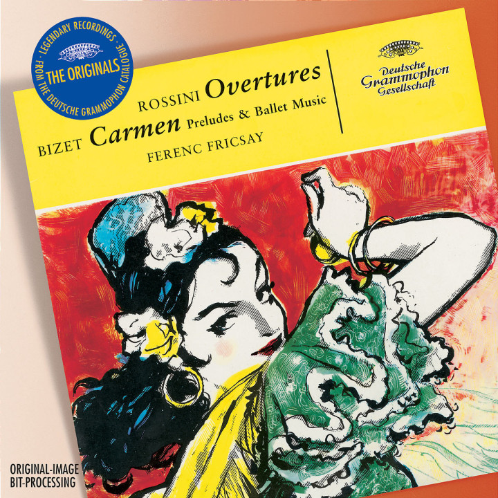Rossini: Overtures; Bizet: Carmen-Suite 0028947759085