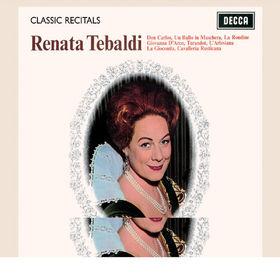 Giuseppe Verdi, Renata Tebaldi / Classic Recital, 00028947571667