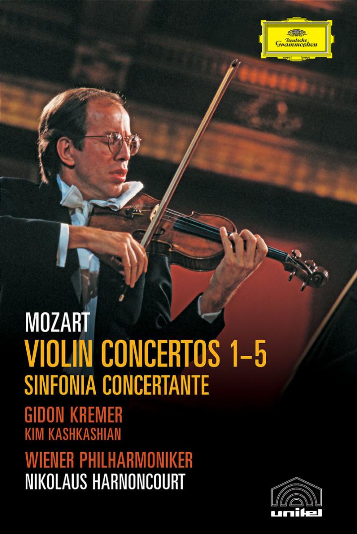 Mozart: Violin Concertos 1-5; Sinfonia Concertante 0044007341575