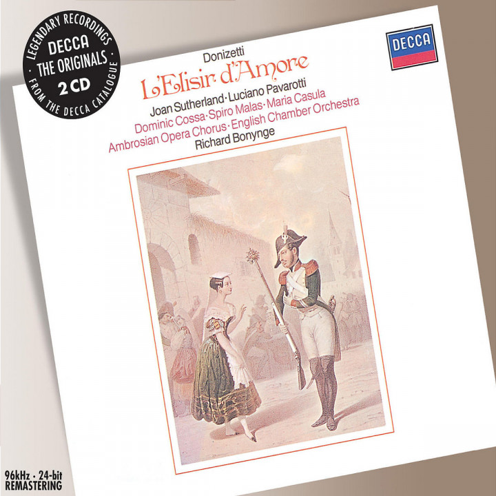 Donizetti: L'Elisir d'amore 0028947575144