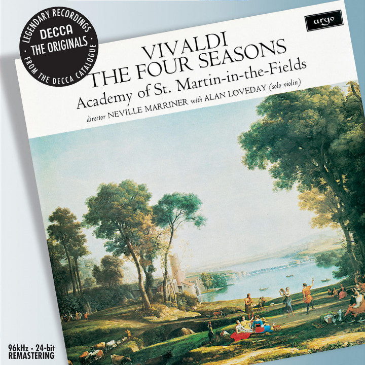 Vivaldi: The Four Seasons etc 0028947575317