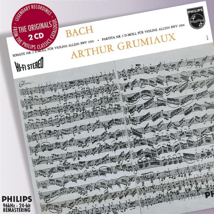 Bach: Sonatas & Partitas for solo violin 0028947575524