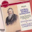 Johann Wolfgang von Goethe, Brahms: Choral Music, 00028947575580