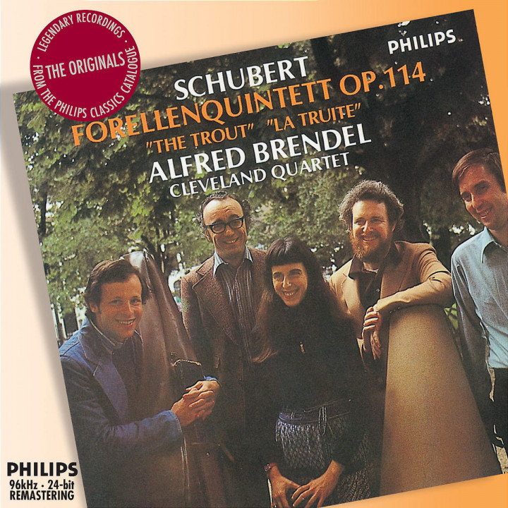 "Schubert: Piano Quintet - ""Trout"" 0028947575742"