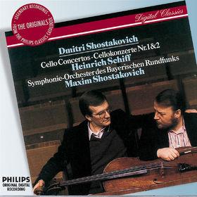 The Originals, Shostakovich: Cello Concertos Nos.1 & 2, 00028947575757