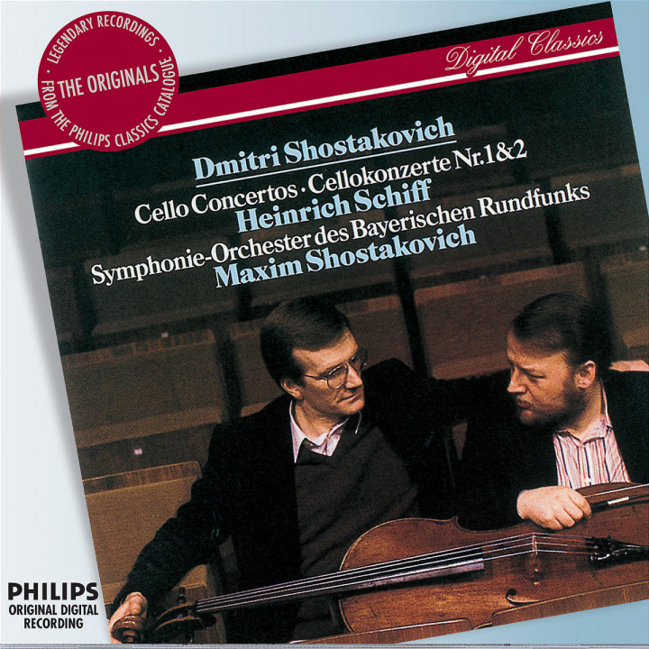 Shostakovich: Cello Concertos Nos.1 & 2 0028947575753