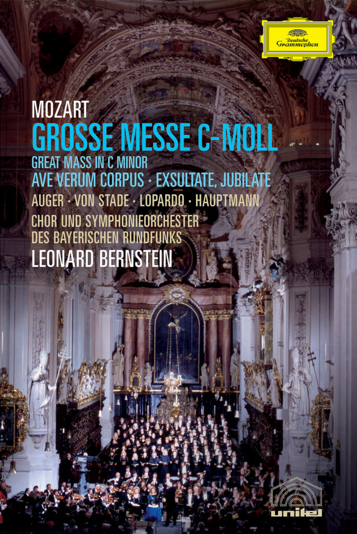 Mozart: Mass in C minor, Ave Verum, Exultate Jubilate 0044007342406