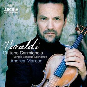 Giuliano Carmignola, Vivaldi: Violin Concertos, R. 331, 217, 190, 325 & 303, 00028947760054