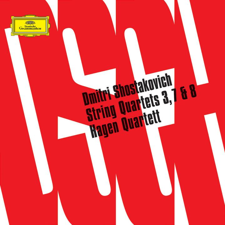 Shostakovich: String Quartets Nos. 3, 7 & 8 0028947761460
