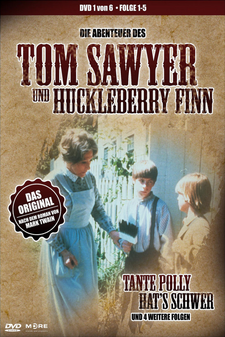 Tom Sawyer & Huckleberry Finn - Dvd 1 4032989601046