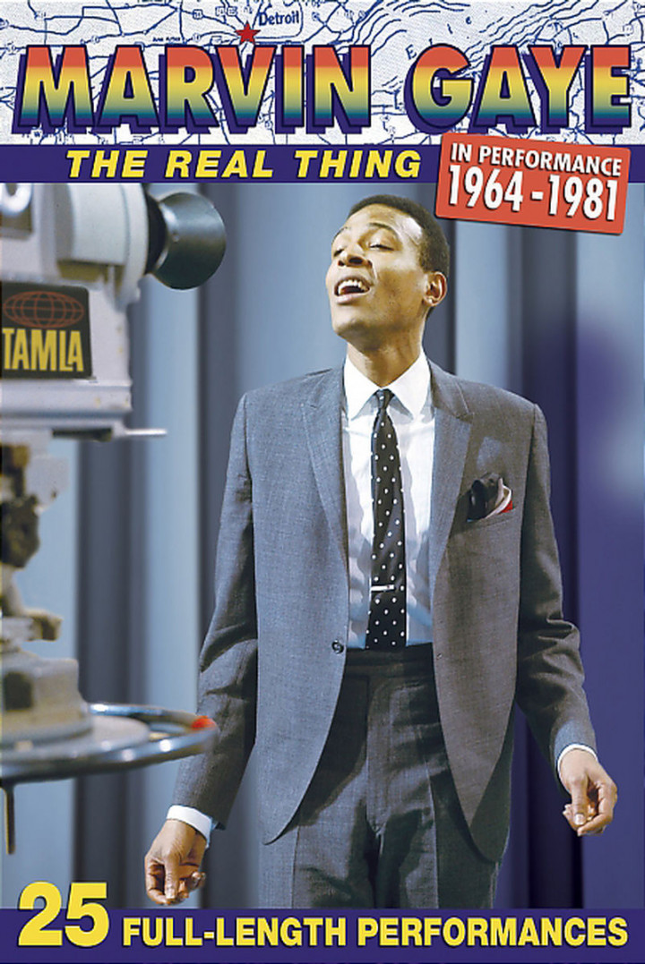 Marvin Gaye / The Real Thing In Performance 1964 - 1981 0602498776797