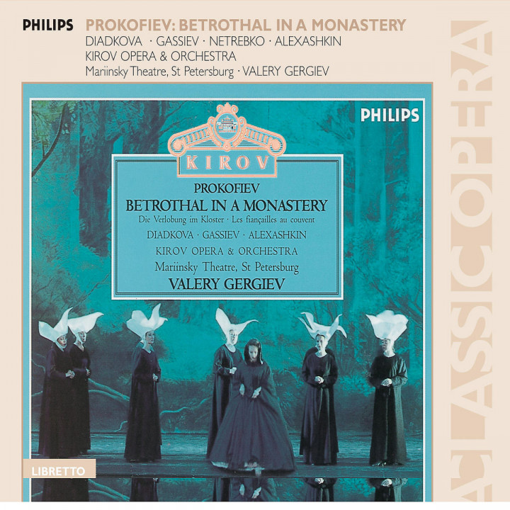 Prokofiev: Betrothal In A Monastery 0028947576330