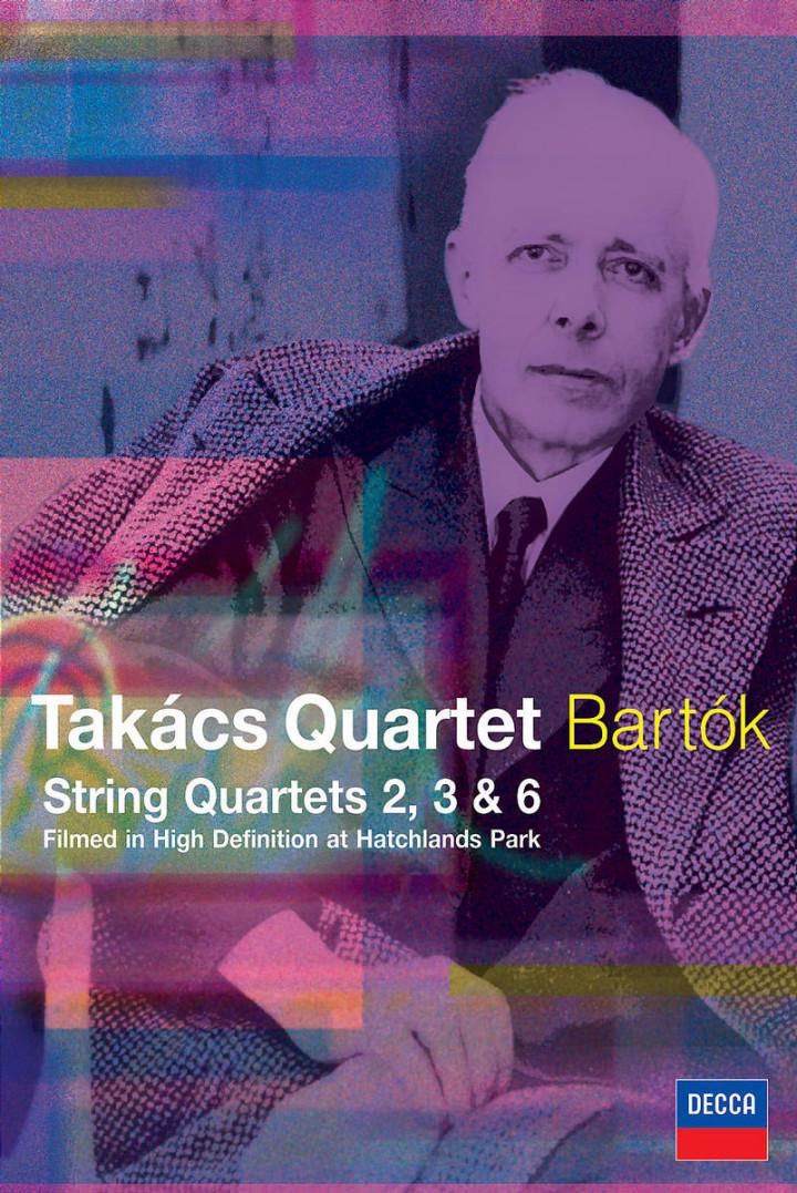 Bartok: String Quartets Nos.2, 3 & 6 0044007431414