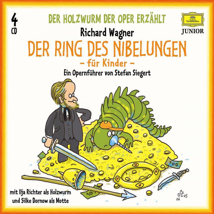 Der Holzwurm der Oper: Wagner-Festspiel-Box 0028944281521