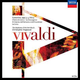 Antonio Vivaldi, Vivaldi: Concerti Opp.3,4,8 & 9, 00028947576938