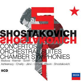 Dmitri Shostakovich, Shostakovich: Orchestral Music & Concertos, 00028947574316