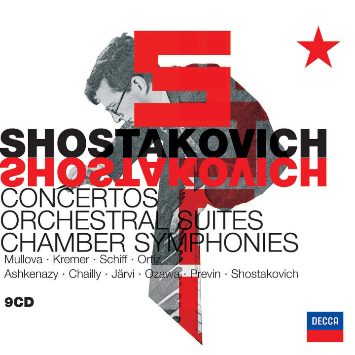 Shostakovich: Orchestral Music & Concertos 0028947574316