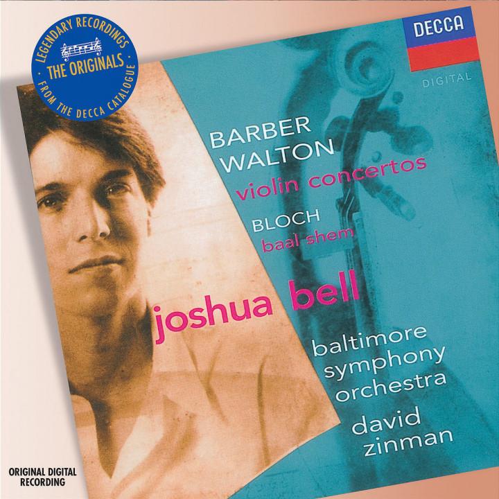 Barber/Walton: Violin Concertos 0028947577102