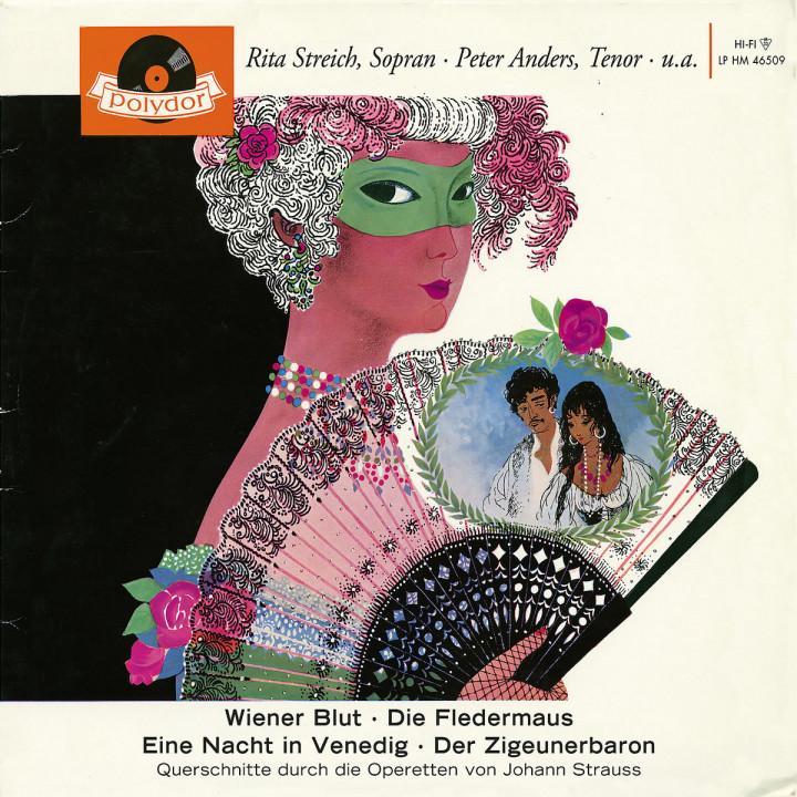 4 Operettenquerschnitte - Wiener Blut, Die Fledermaus, Eine Nacht in Venedig, Der Zigeunerbaron 0028947656737