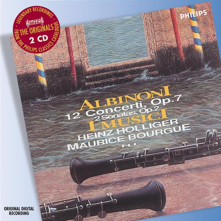 Albinoni: 12 Concertos, Op.7 0028947577571