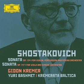 Gidon Kremer, Shostakovich: Violin Sonata, Viola Sonata - orchestrated, 00028947761969