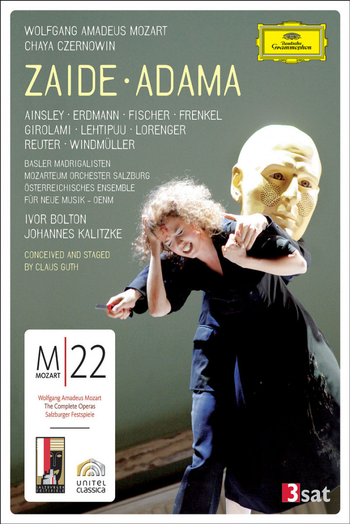 Mozart / Czernowin: Zaide / Adama 0044007342521