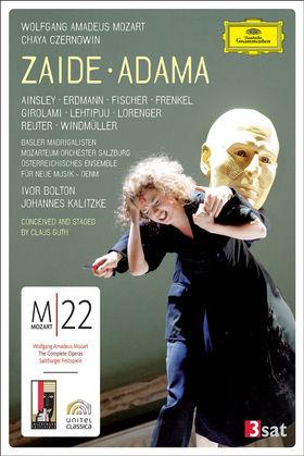 Mojca Erdmann, Mozart: Zaide; Czernowin: Adama, 00044007342527