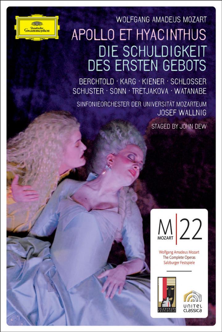 Mozart: Appollo et Hyacinthus; Die Schuldigkeit des ersten Gebotes 0044007342532