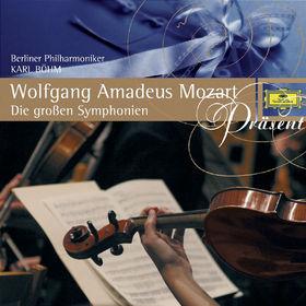 Die Berliner Philharmoniker, Mozart: Die großen Symphonien, 00028944286243