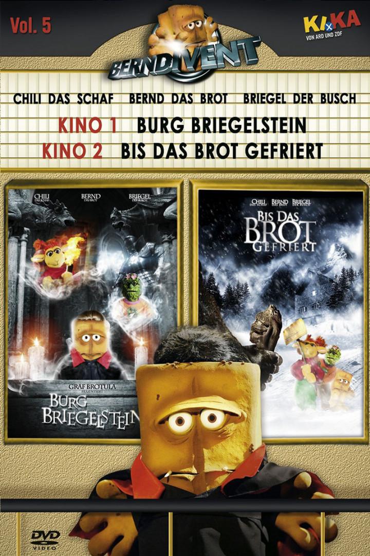 """05: Burg Briegelstein & Bis das Brot gefriert (+ Silvester-Special """"Dinner für Brot"""") 0602498774809"""