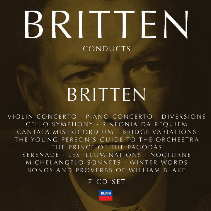 Britten conducts Britten Vol.4 0028947560515
