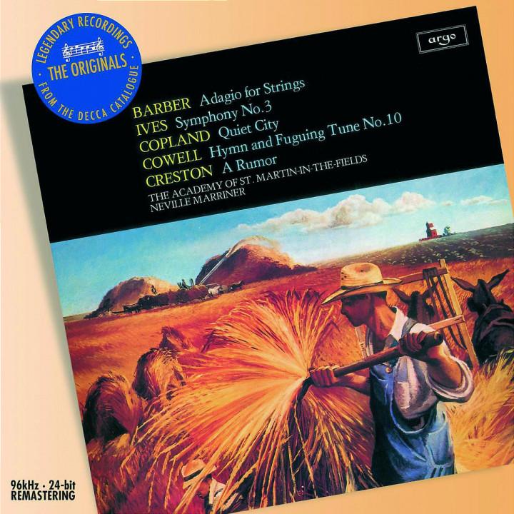 Barber/Ives/Copland: Orchestral Works 0028947582373