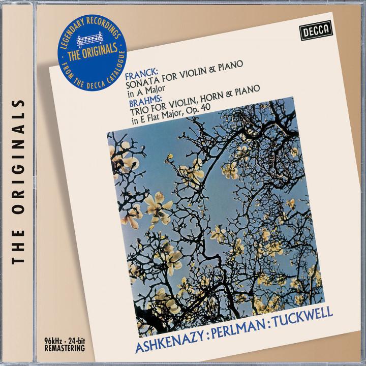Franck: Violin Sonata / Brahms: Horn Trio 0028947582465