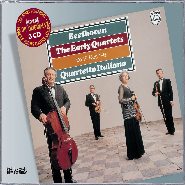 Beethoven: The Early String Quartets 0028947582524