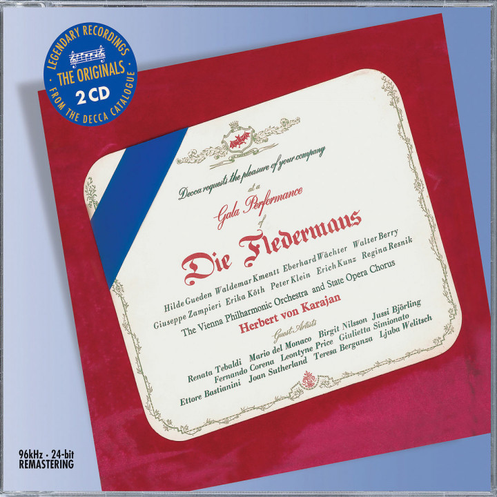 Strauss, J: Die Fledermaus 0028947583190
