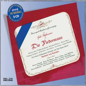 Herbert von Karajan, Strauss, J: Die Fledermaus, 00028947583196