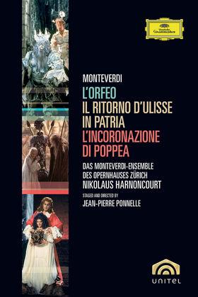 Nikolaus Harnoncourt, Monteverdi: Operas, 00044007342787