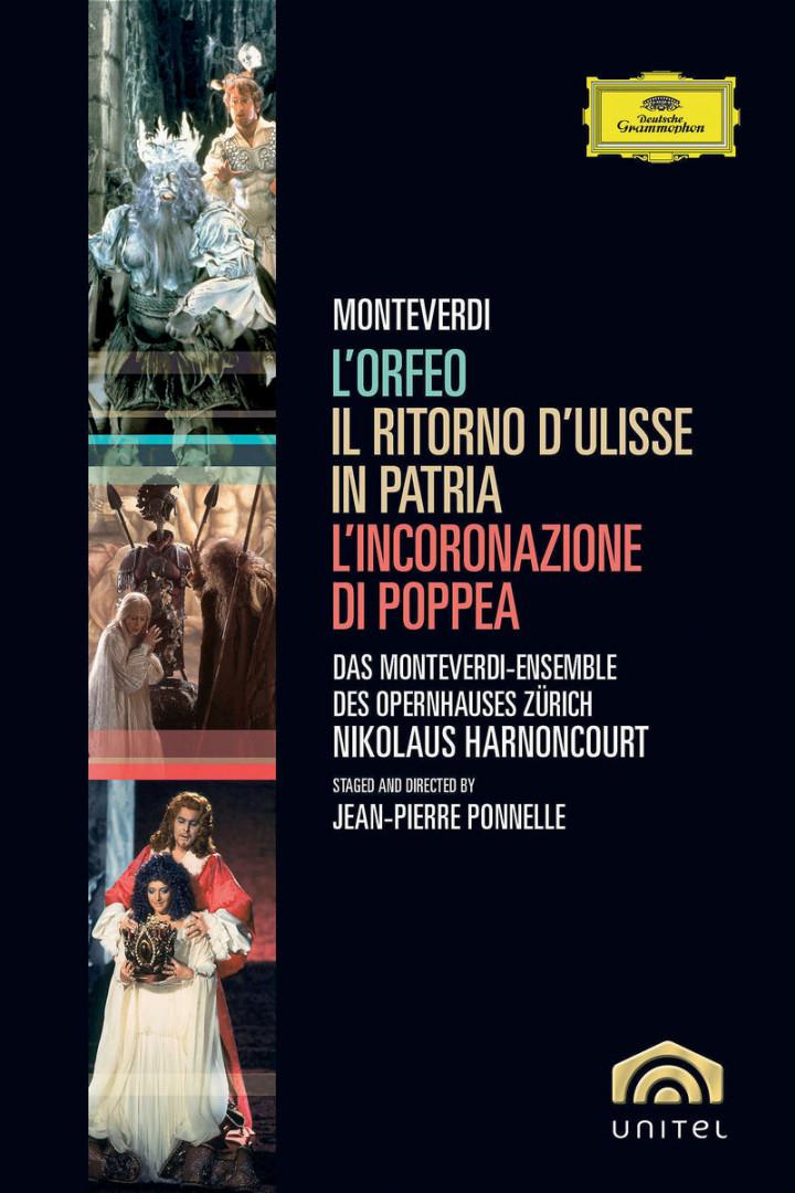 Monteverdi: L'Orfeo; L'Incoronazione di Poppea; Il Ritorno d'Ulisse in Patria 0044007342783