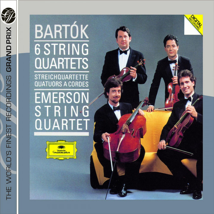 Bartók: The 6 String Quartets 0028947763222