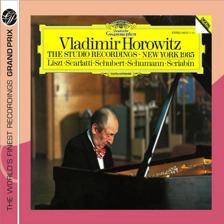 Horowitz: The Studio Recordings, New York 1985 0028947763358