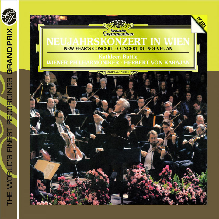 Strauss: New Year's Concert in Vienna 1987 0028947763369