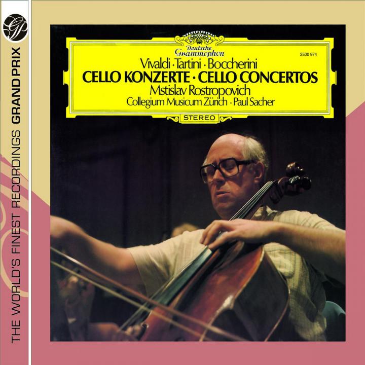 Vivaldi / Tartini / Boccherini: Cello Concertos 0028947763370
