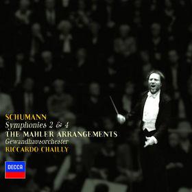 Robert Schumann, Schumann: Symphonies Nos.2&4 (arr. Mahler), 00028947583523