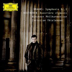 Christian Thielemann, Beethoven: Egmont Overture / Brahms: Symphony No.1, 00028947764045