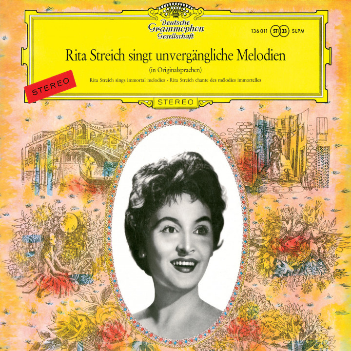 Rita Streich sings Immortal Melodies 0028947765420