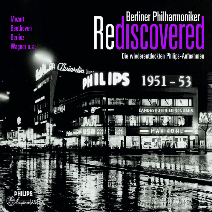 Berliner Philharmoniker Rediscovered 0028944291281